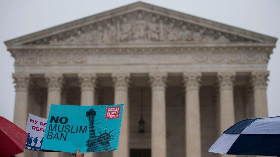 Protesta ante la Corte Suprema de Justicia.