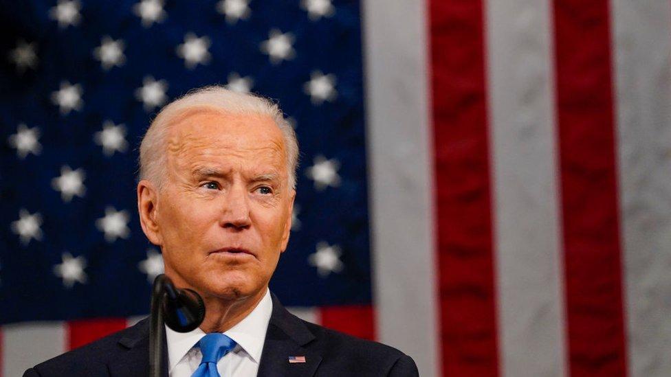 Joe Biden presidente de EE.UU.