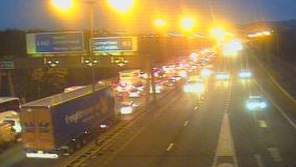 M4 reopens after early hours crash around Swansea