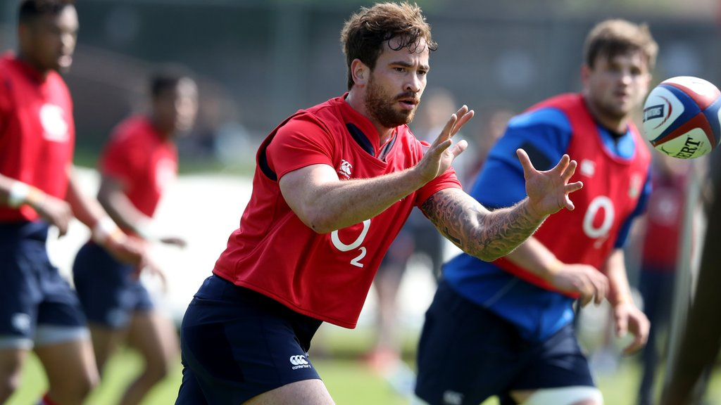 Danny Cipriani listed as full-back in England training squad for Barbarians squad