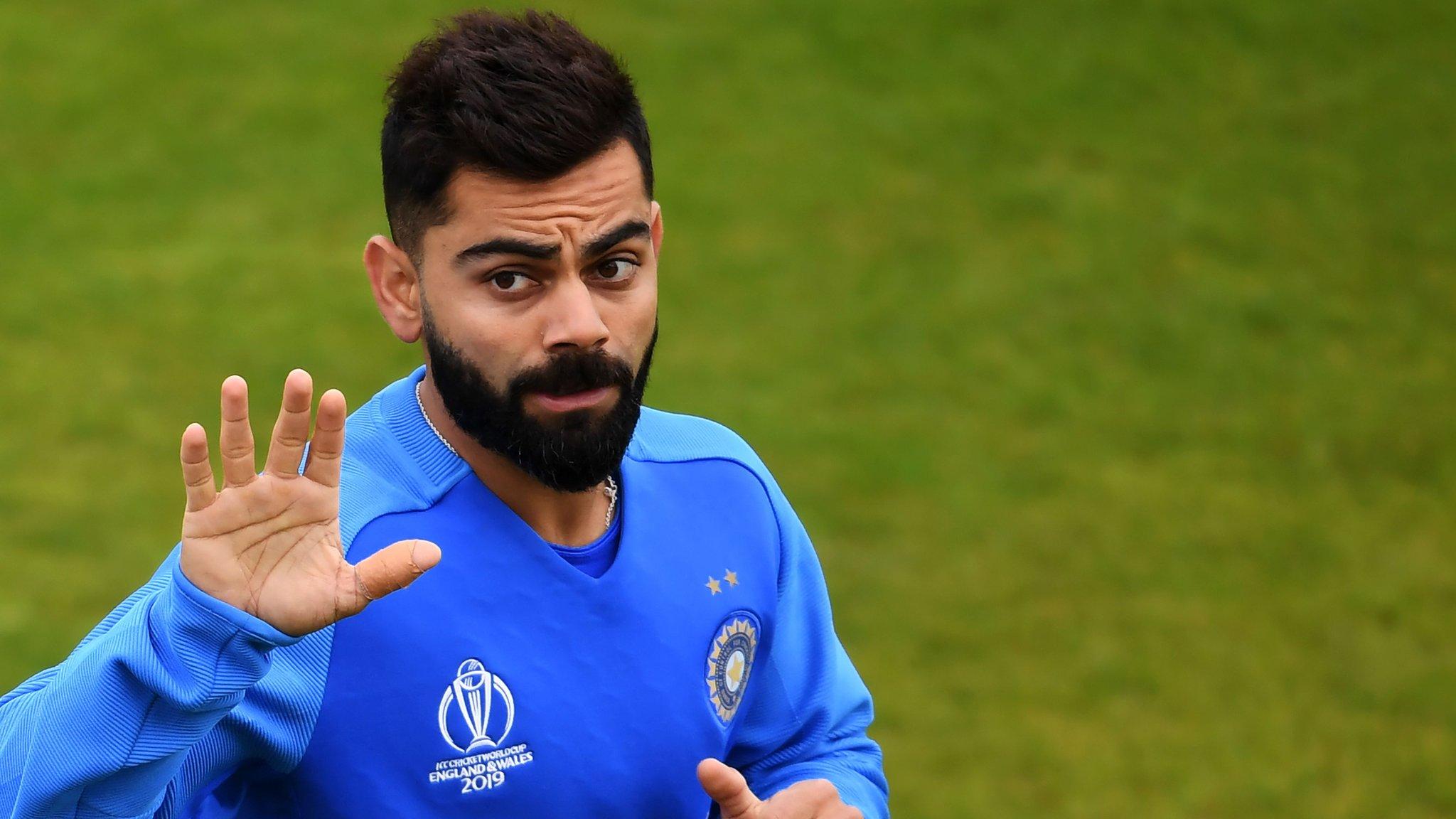 Virat Kohli on India v Pakistan after New Zealand game abandoned