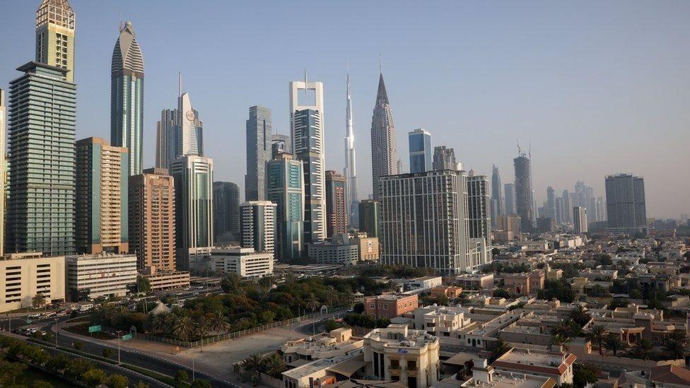Foto panorámica Dubai