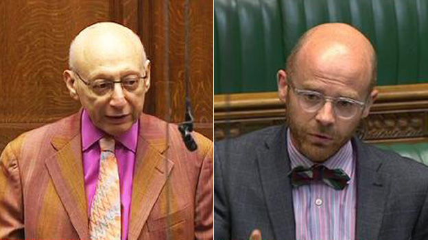 Labour MP Gerald Kaufman and SNP MP Michael Docherty