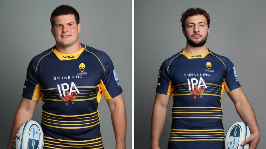 Worcester Warriors: Prop Ryan Bower and flanker Zac Xiourouppa to miss rest of season