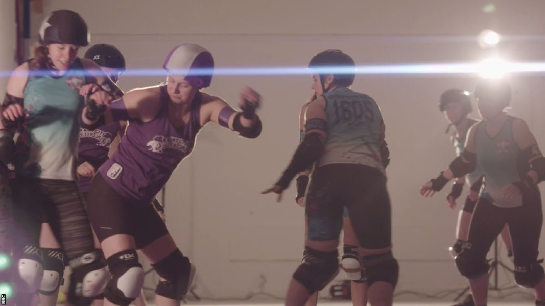 Roller Derby: How to Hit Safely