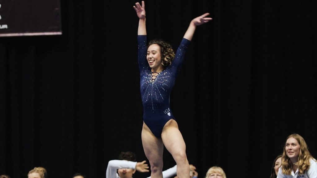 Katelyn Ohashi: The 'perfect 10' gymnastics routine with over 60 million views