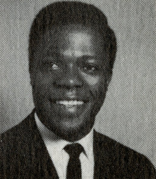 a young Kofi Annan in black and white
