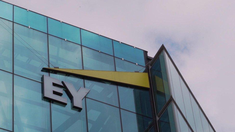 EY building