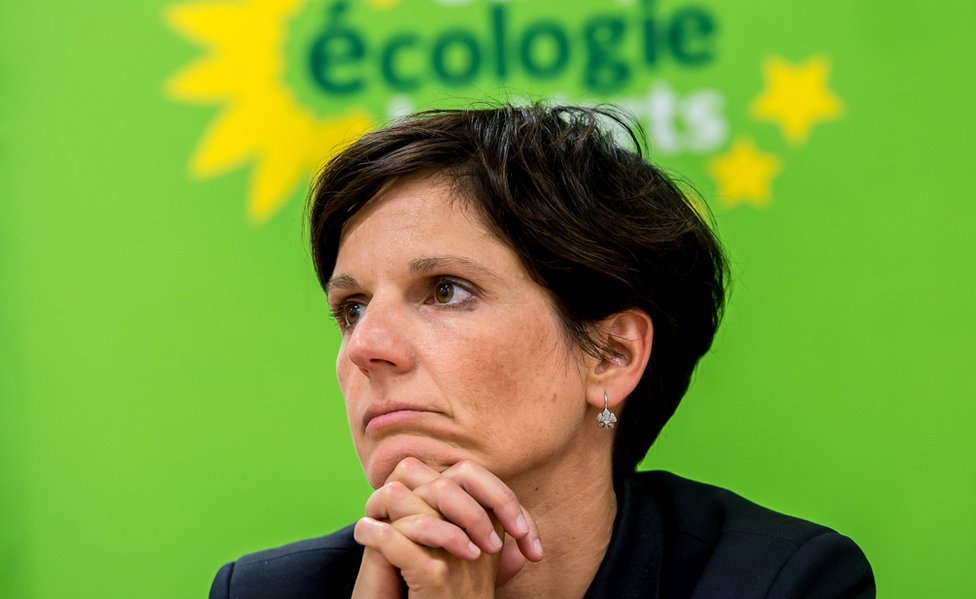 Green Party spokeswoman Sandrine Rousseau (file pic)