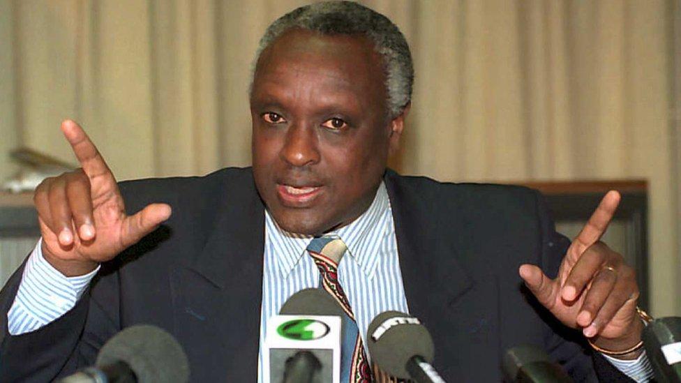 Jacques Bihozagara in 1995