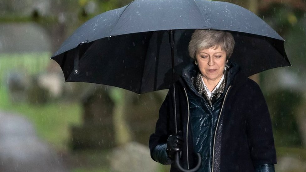 What Theresa May faces now