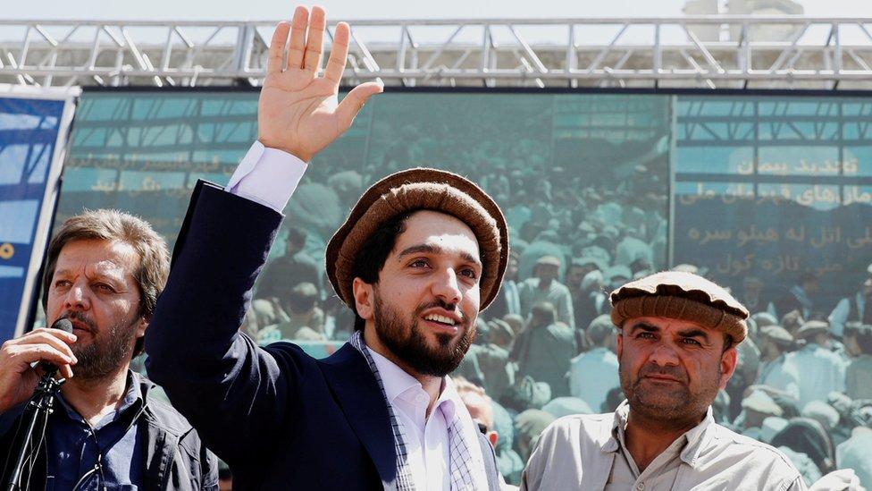 艾哈邁德·馬蘇德是抵抗運動的領導人之一(2019年資料照片)。