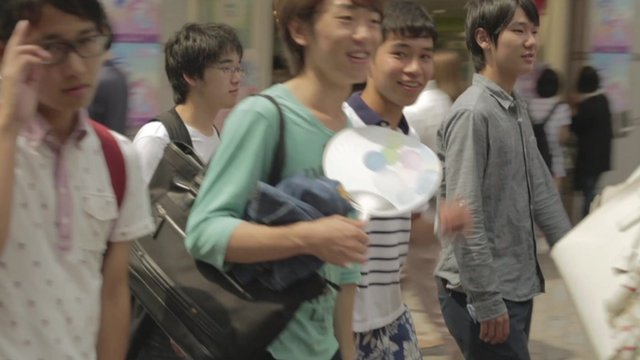 Young people in Japan