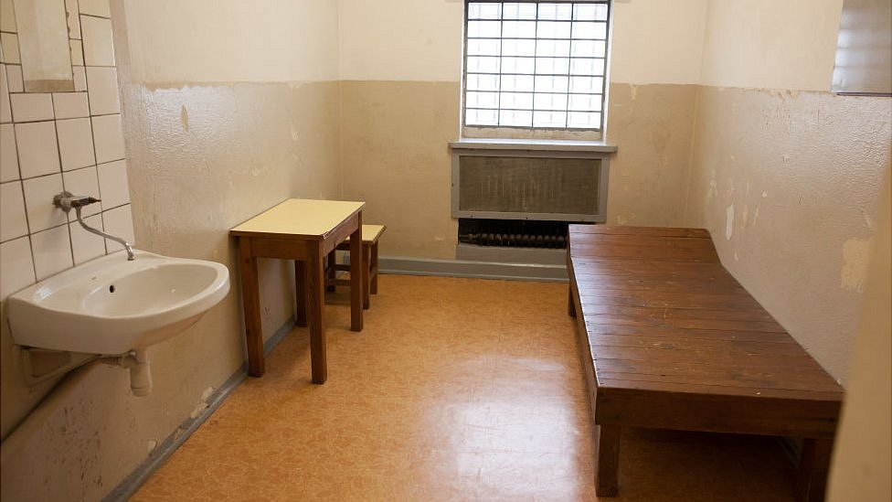 Una celda de la Stasi,