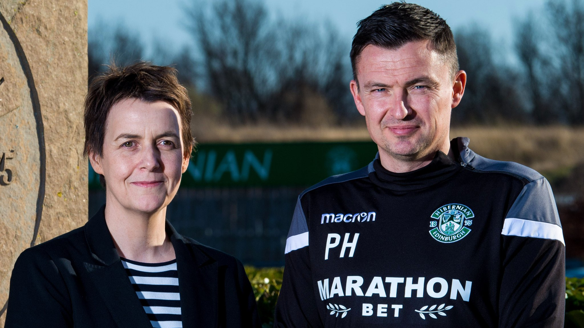 Hibernian: Paul Heckingbottom was only person offered job