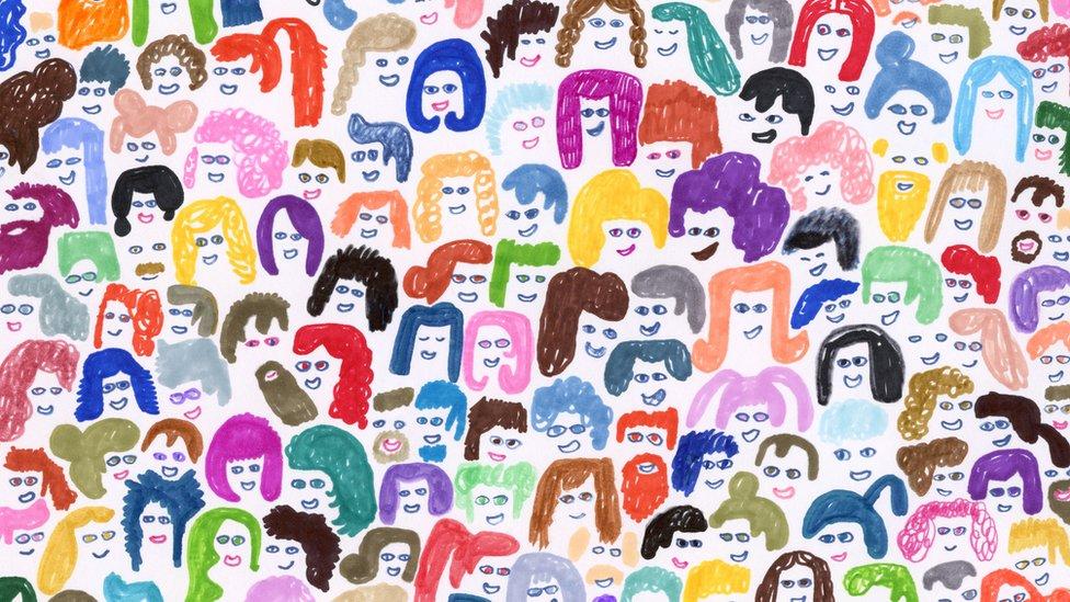 Caricatura de gente