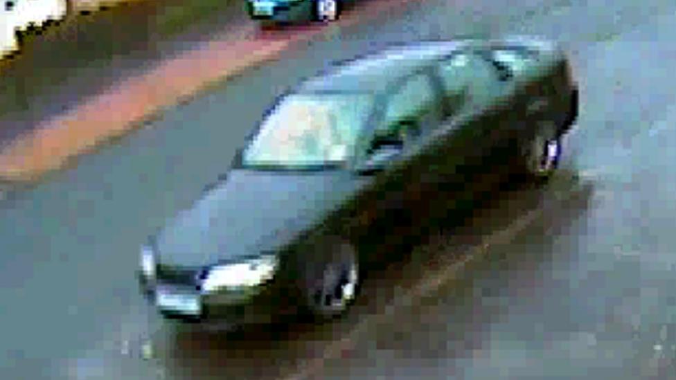 CCTV of Vauxhall Vectra