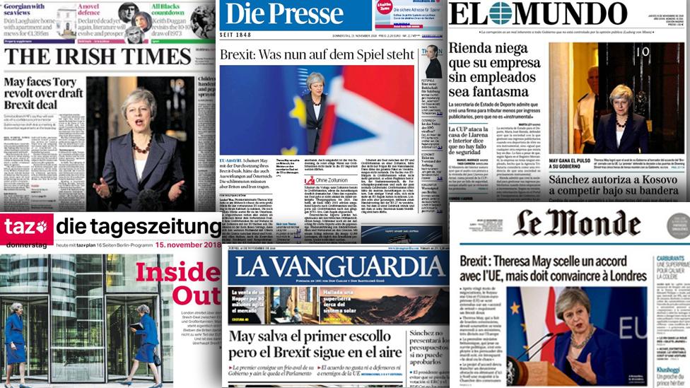 European media: Brexit hurdles still lie ahead