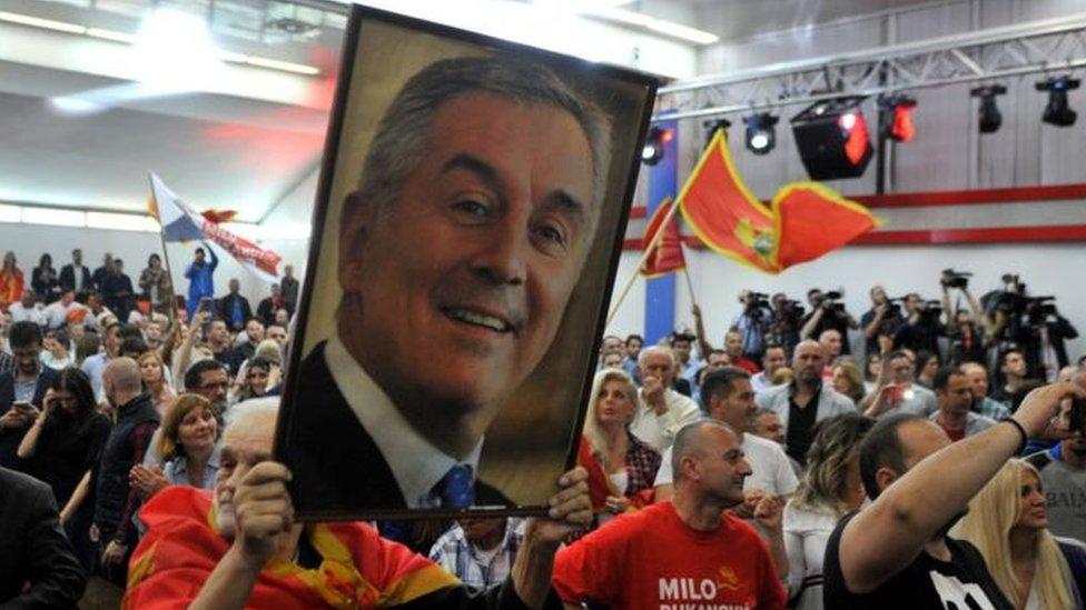 Fotografija MIla Đukanovića