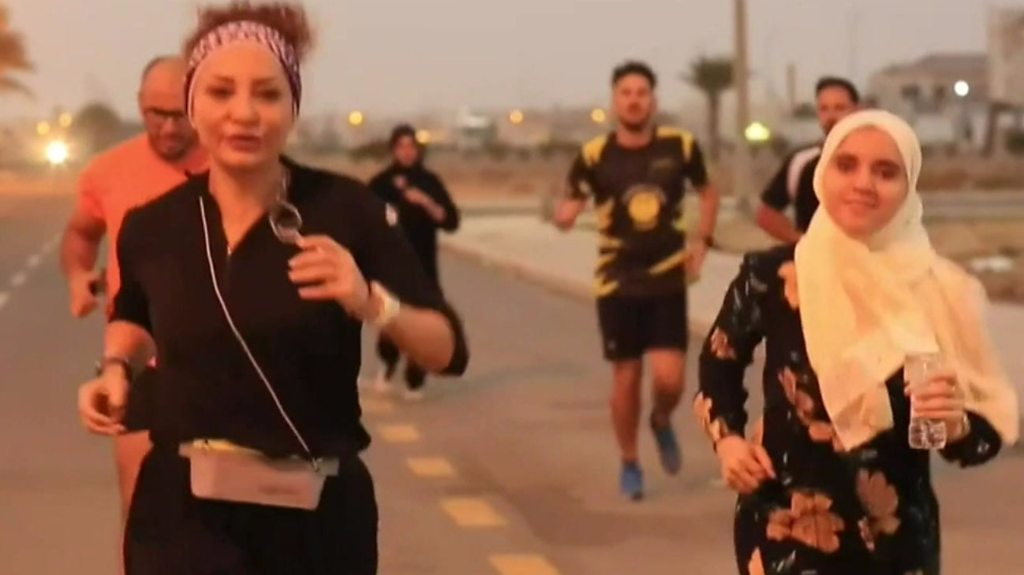 Saudi women runners taking to the streets