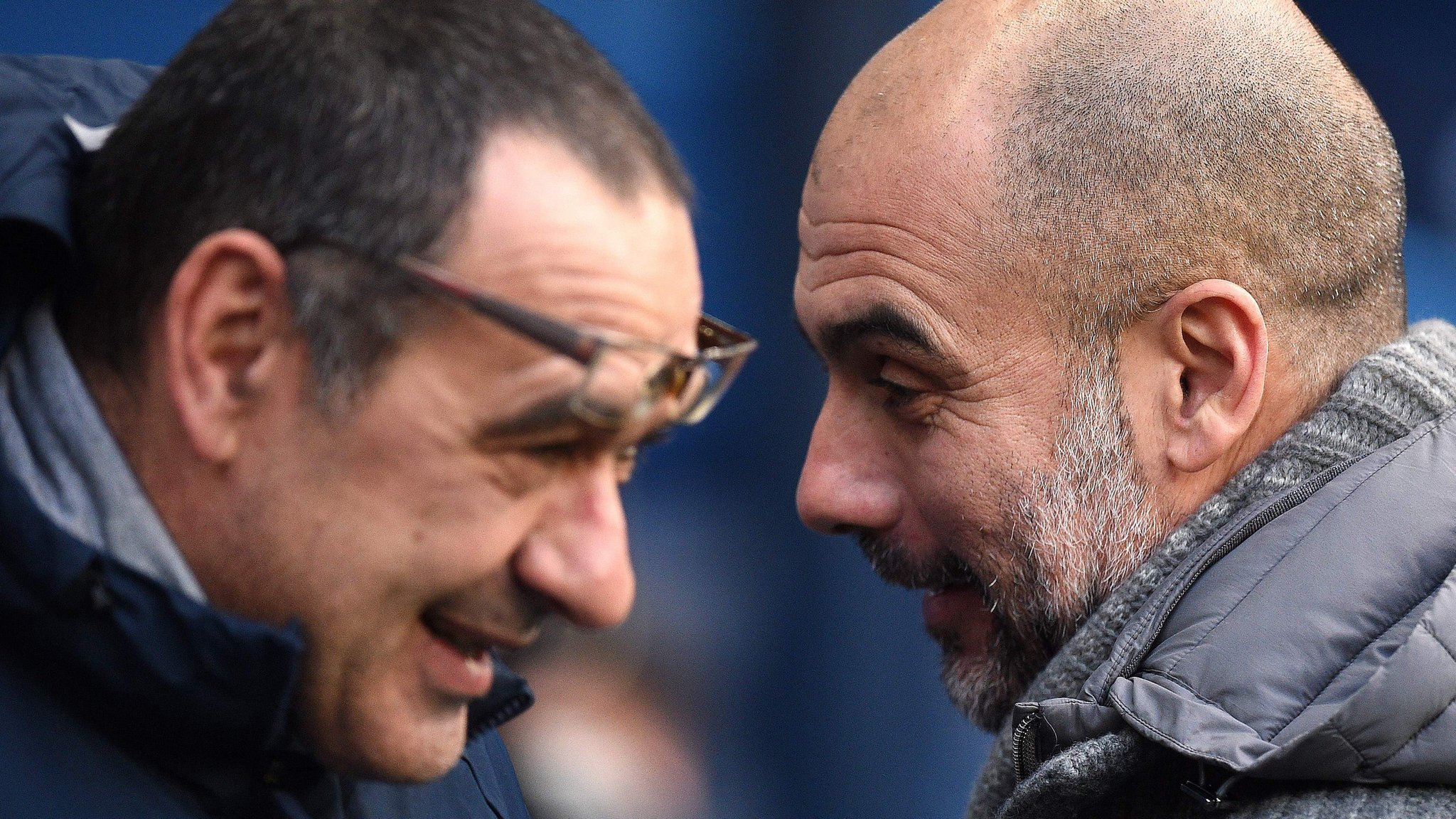 Carabao Cup final: Chelsea v Manchester City - Guardiola opinion of Sarri 'always high'