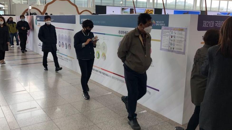 Glasanje u Seulu