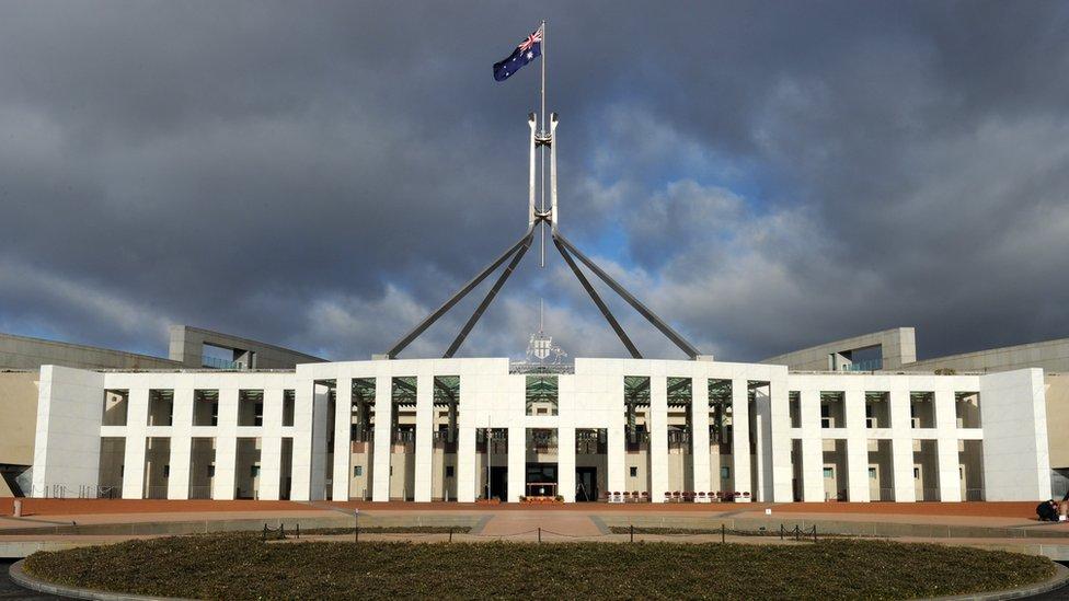 堪培拉澳大利亞聯邦議會大廈