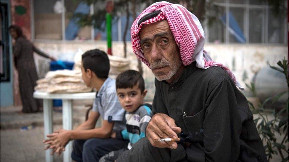 نازح سوري في الحسكة