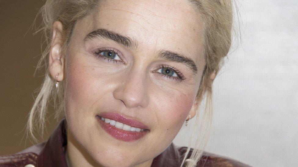 """La dolorosa revelación de Emilia Clarke, protagonista de """"Game of Thrones ..."""