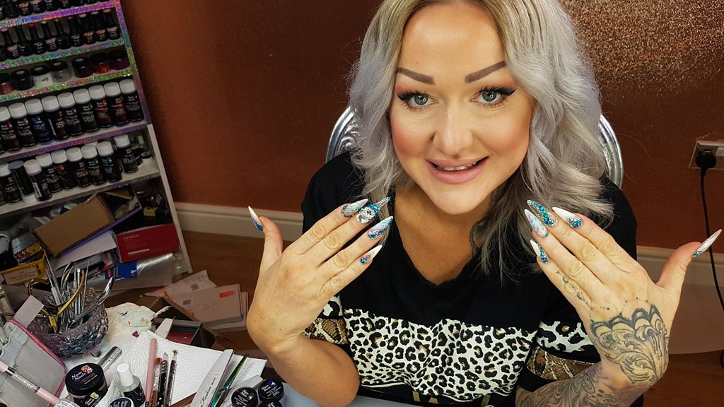 Kirsty Meakin: Nail artist on YouTube success