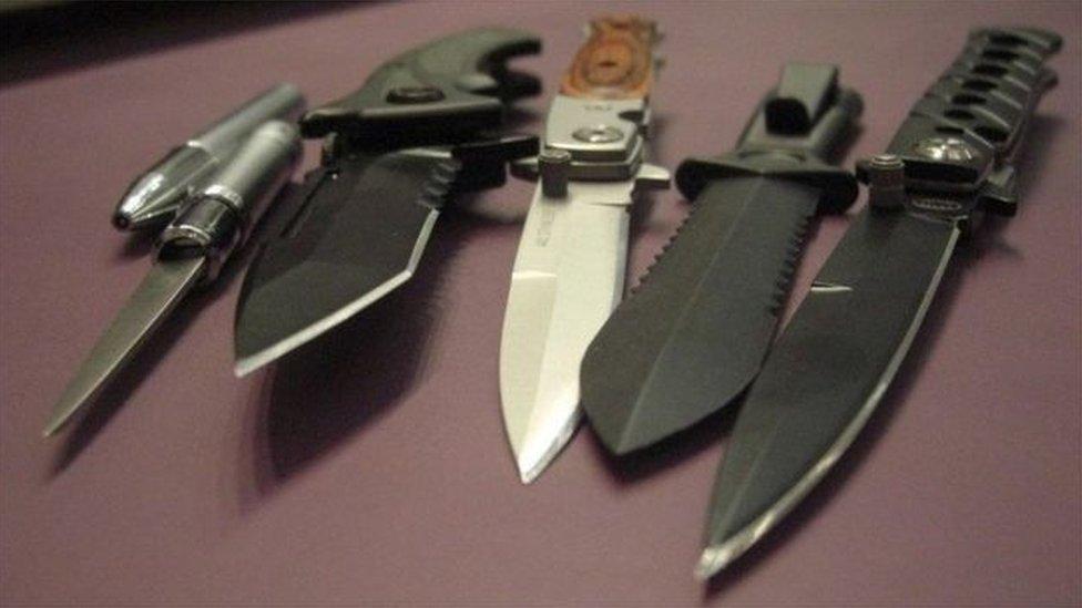 Latest knife bin opened after armed attacks in Birmingham