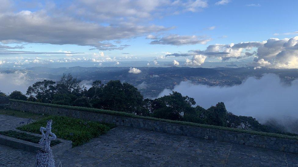 Vista desde el Humboldt.