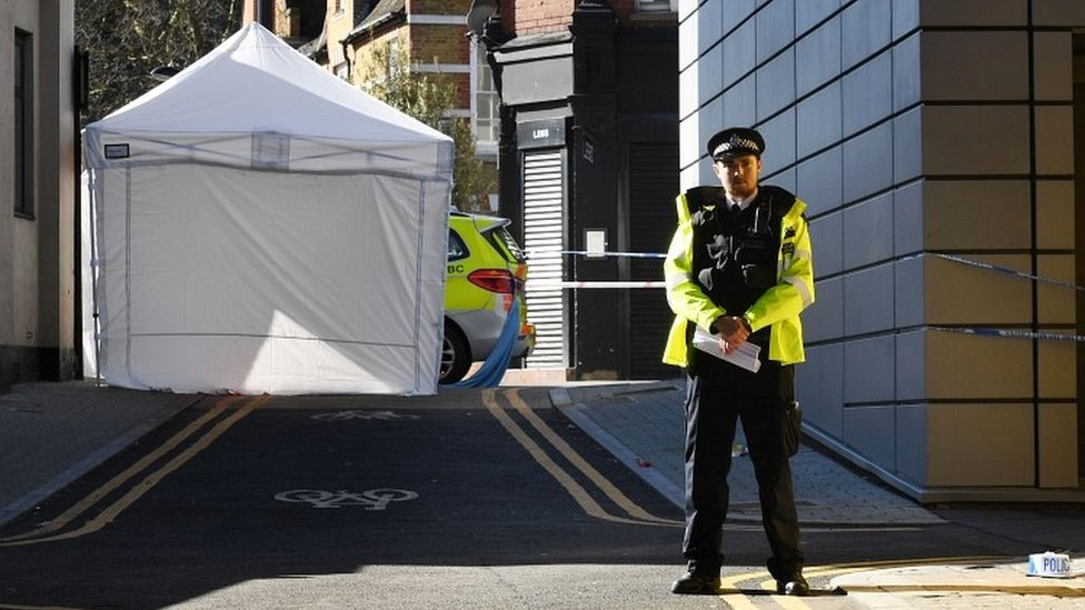Police officer in Hackney