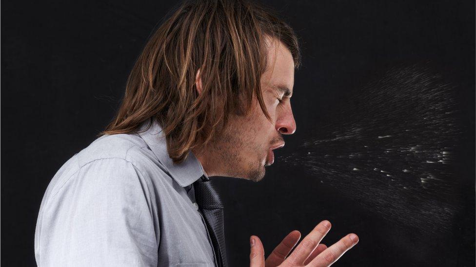 Man ruptures throat by stifling a sneeze