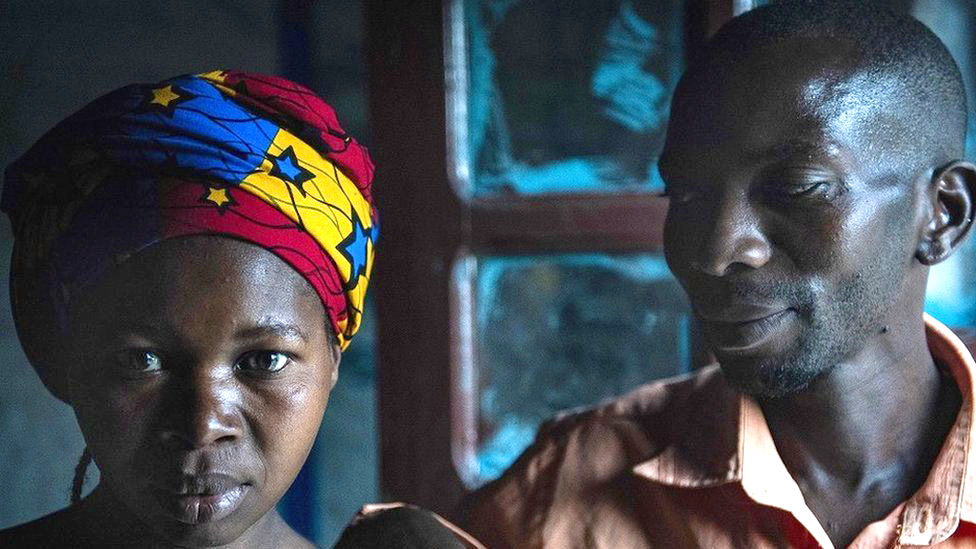 Moises y su esposa Jullienne