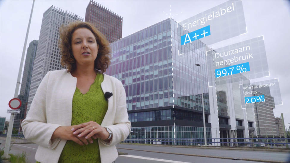The Dutch Rijnstraat 8 government building won a sustainability award