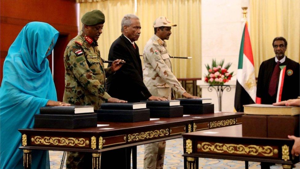 مجلس السيادة في السودان