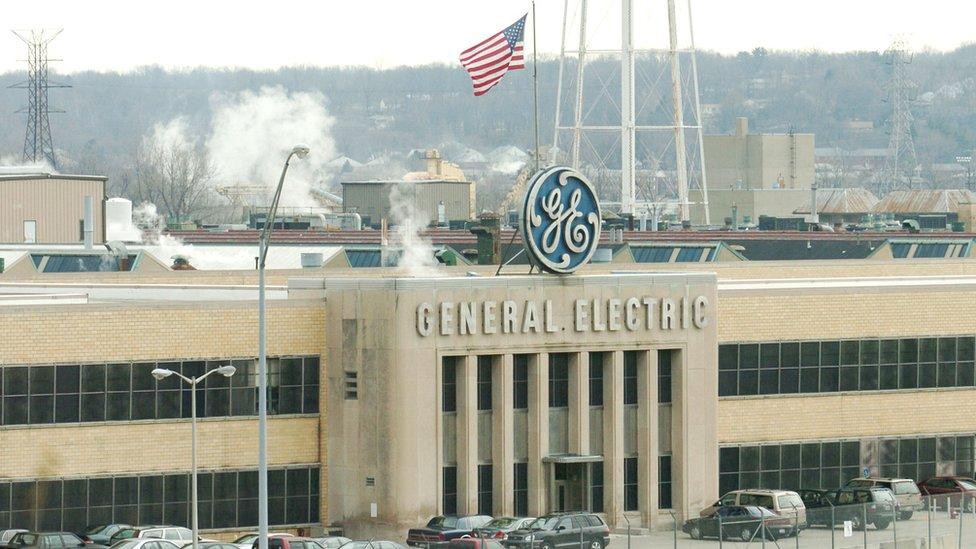General Electric jet engine plant in Cincinnati