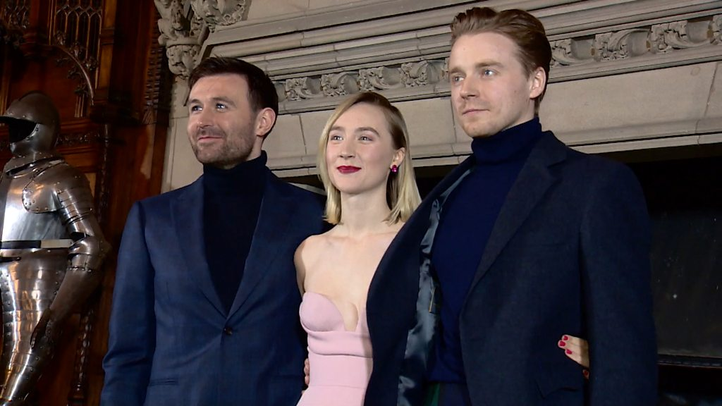 Stars of Mary Queen of Scots film attend Scottish premiere