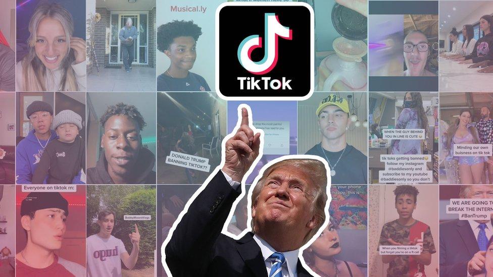 Trump'ın yasaklama tehditlerinin ardından, uygulamanın kullanıcıları 'TikTok'u kurtarın' (#SaveTikTok) kampanyası başlattı.