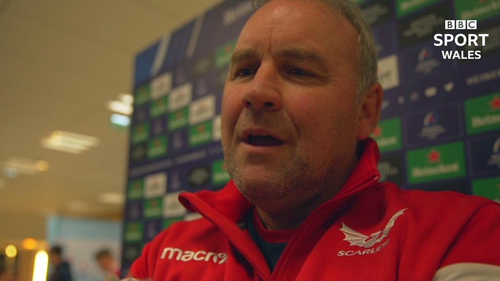 Wayne Pivac: Scarlets can beat Europe's best after losing at Racing 92