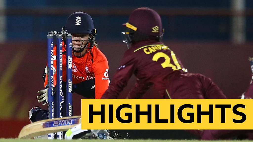 Women's World Twenty20: Highlights - Windies edge England in last-over thriller