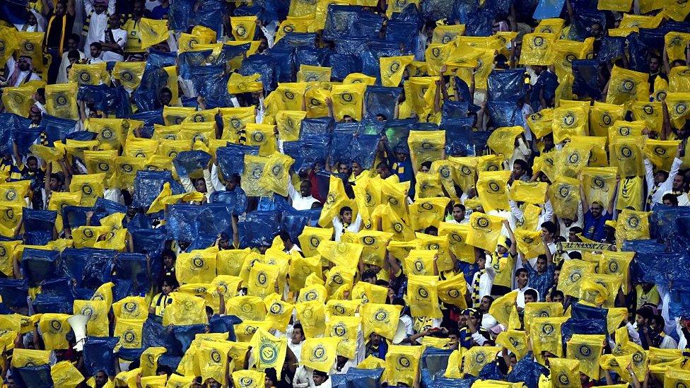 جماهير نادي النصر السعودي