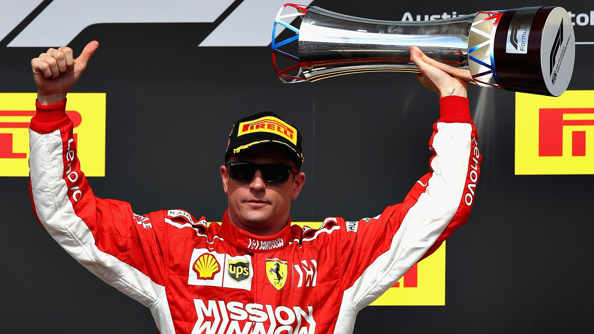 Hamilton title wait goes on as Raikkonen wins thriller in Austin