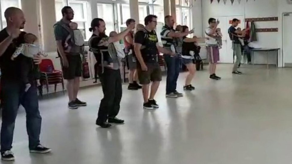 The Swindon class where 'dad dancing' is encouraged