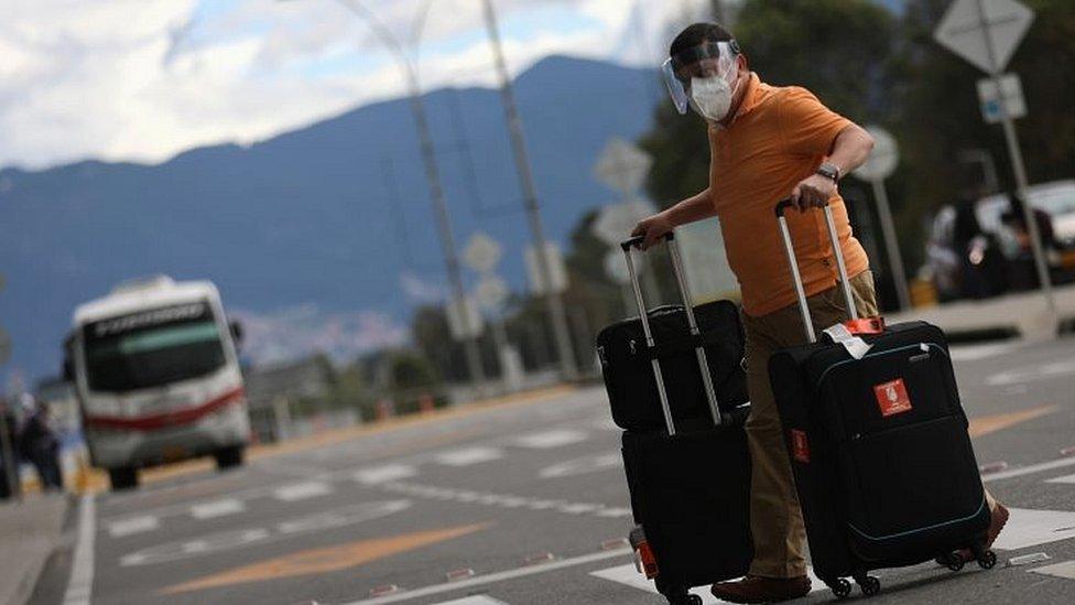 Viajero en Colombia