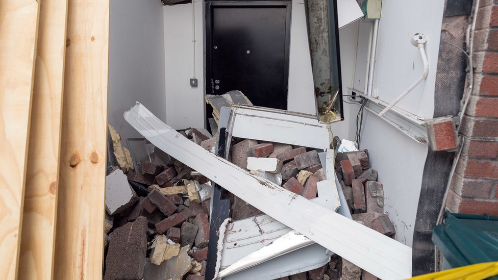 Omagh cash machine found after being 'ripped out of wall'