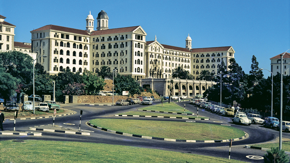 Groote Schuur Hospital (GSH) Cape Town, South Africa in 1969 - the hospital is famous for being the hospital where the first heart transplant took place in 1967