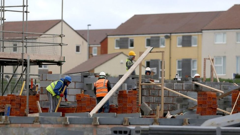 New houses being built in Bristol