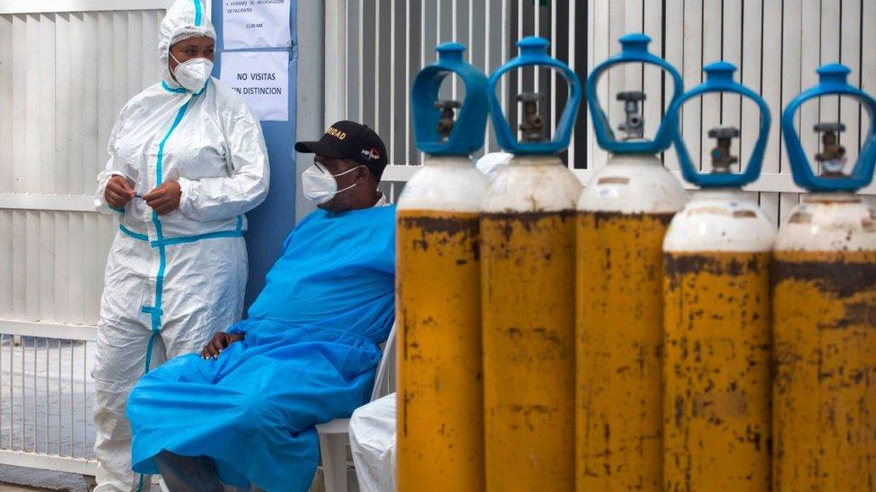 Trabajadores de la salud en República Dominicana